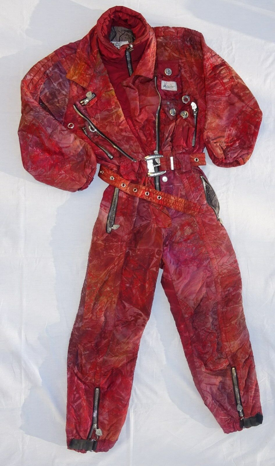 High Society Damen Skianzug Overall rot  Größe 36 36 36  R. Engel 2f8004