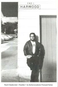 POET-amp-BIOGRAPHER-NEELI-CHERKOVSKI-SF-JULY-1983-BEAT-WRITERS-PHOTO-POSTCARD-1