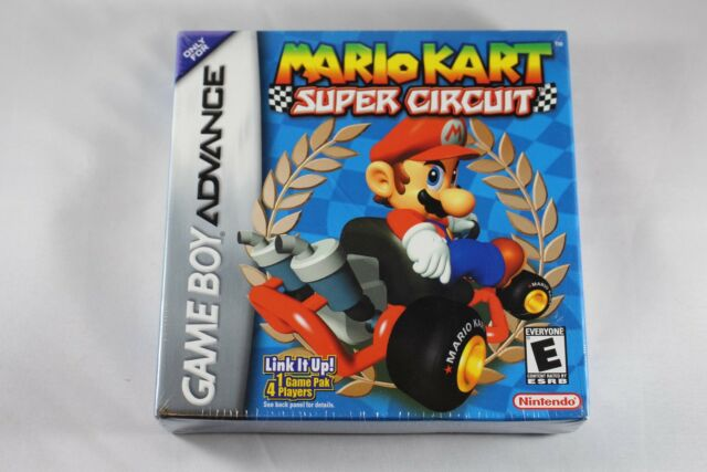Mario Kart Super Circuit (Nintendo Game Boy Advance GBA) NEW Factory Sealed