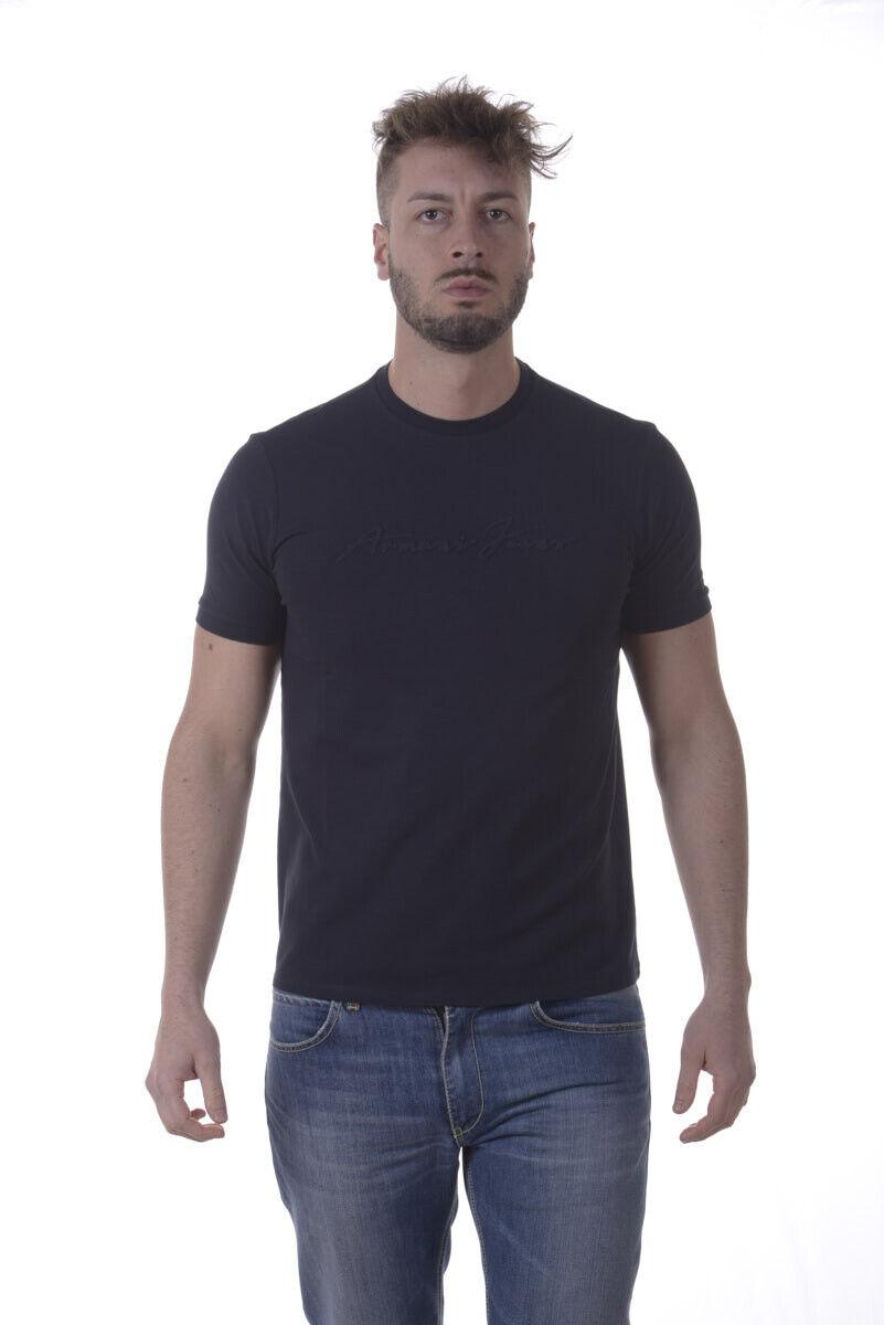 Armani Jeans AJ T hemd schweißhemd Man Blau 3Y6T146J0AZ 1579 Sz XL MAKE OFFER