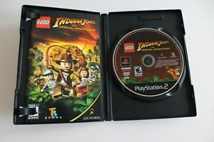 Lego Indiana Jones Sony Playstation 2 PS2 Game Complete Adult Owner MINT