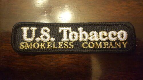 VINTAGE U.S TOBACCO SMOKELESS COMPANY PATCH