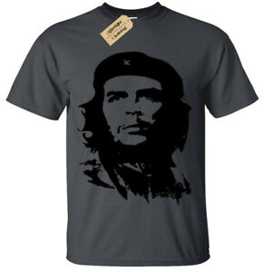 Che-Guevara-SCREEN-PRINTED-Mens-T-Shirt-S-5XL-retro