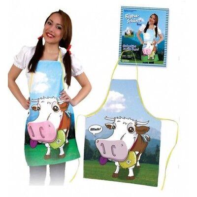German Bavarian Oktoberfest Funny Costume Apron Classic Lederhosen
