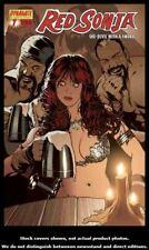 Red Sonja 7 Variant Adam Hughes Cover 2005 Vf/nm Dynamite Queen Vol 1 Conan