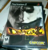 DEVIL MAY CRY 2 SONY PS2 BLACK LABEL GAME SONY YFOLD FACTORY SEALED BRAND NEW