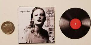 Miniature-record-AG-Barbie-Gi-Joe-1-6-Playscale-Taylor-Swift-Album-Reputation