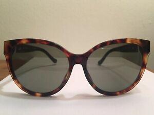 09299791534b Linda Farrow X The Row Oversized Cat Eye Brown Tortoise Shell ...