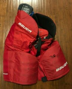 Brand New Bauer Supreme One35 Junior XL Red Hockey Pants