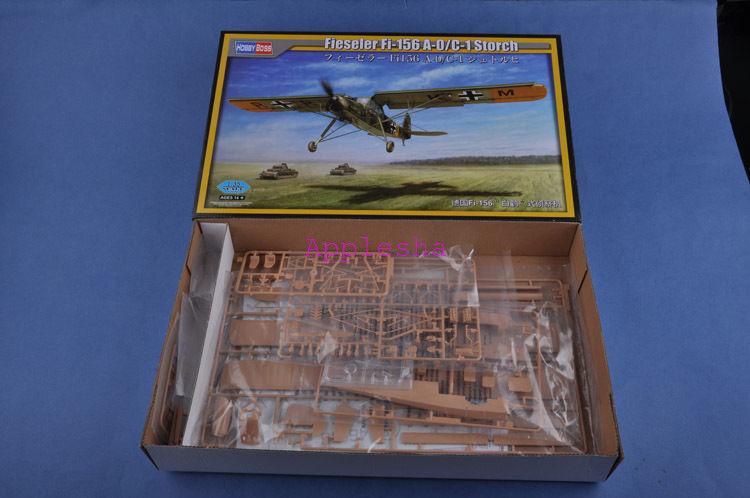 Hobbyboss Model Kit 1 35 80180 Fieseler Fi-156 A-0 C-1 Storch
