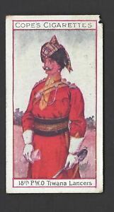 COPE-EMINENT-BRITISH-REGIMENTS-CLARET-12-18TH-PWO-TIWANA-LANCERS