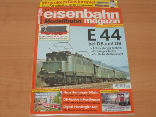Eisenbahn Modellbahn Magazin Ausgabe 10 Oktober 2018 Neuwertig!