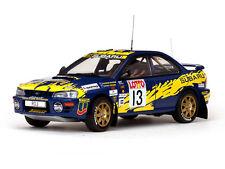 SUNSTAR 5505 SUBARU IMPREZA 555 pressofusione AUTO Bourne Vincent AUSTRALIA 1996 1:18 TH