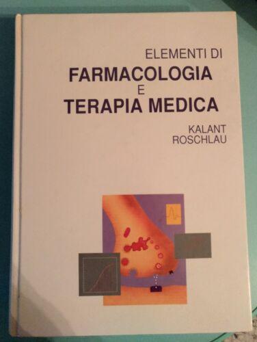 Elementi di farmacologia e terapia medica