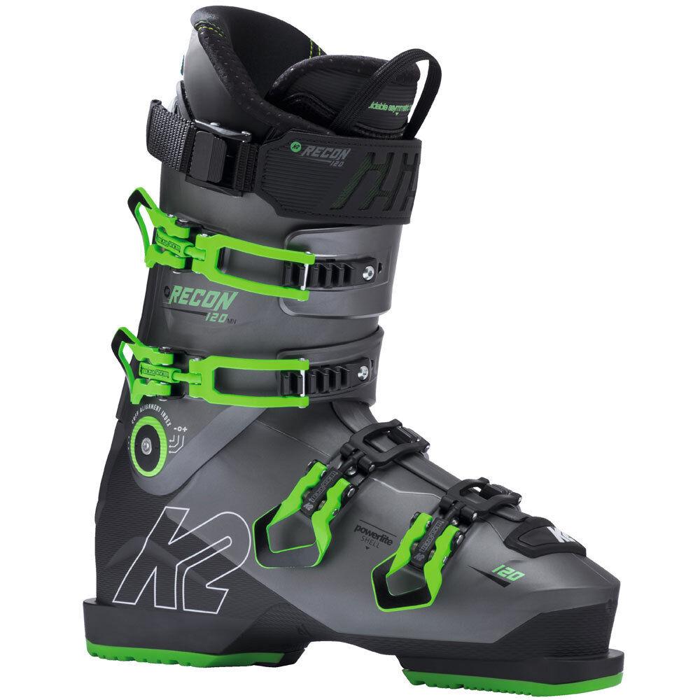 K2 MV Recon 120 MV K2 Skistiefel SkiStiefel Skischuhe All-Mountain 4-Schnallen Herren a8180f