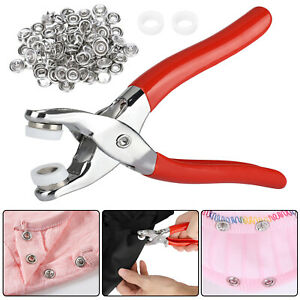100pcs-Prong-Pliers-Ring-Press-Studs-Snap-Popper-Fasteners-Sewing-DIY-Tool-Kit