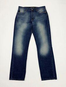 Guess-jeans-uomo-usato-W34-tg-48-gamba-dritta-comodo-relaxed-boyfriend-T5705