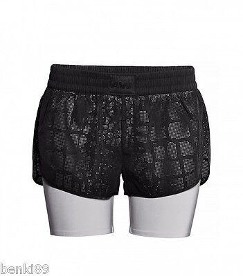 New Runway Alexander Wang H/&M Black Perforated Shorts Sport Logo Gym US10 EUR40