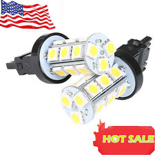 HOTSYSTEM 2X Warm White 3157 3156 18SMD 5050 LED Bulb Reverse Back up Light Sale