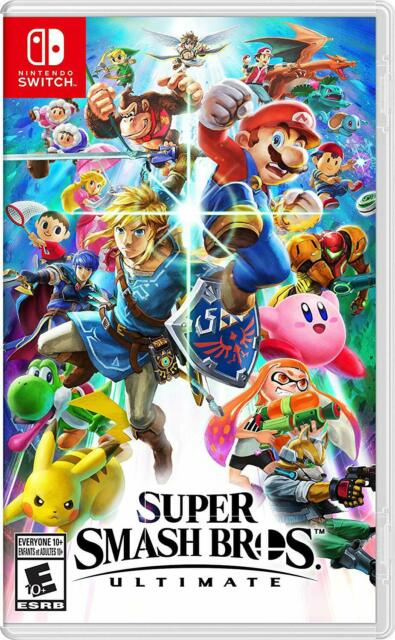 Super Smash Bros Ultimate - Nintendo Switch [Party-Game, 74 Characters] NEW