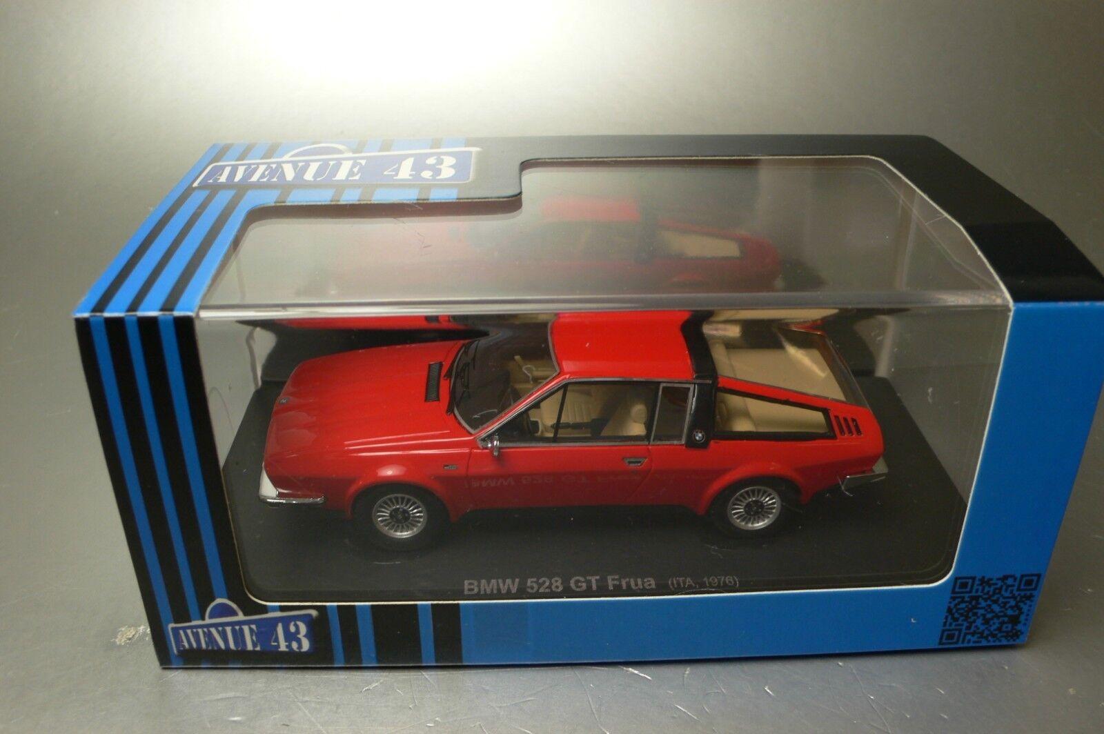 muchas concesiones BMW 528 GT FRUA     ITA 1976  Avenue 43  edition 2018 no 60014  1 43  Mejor precio