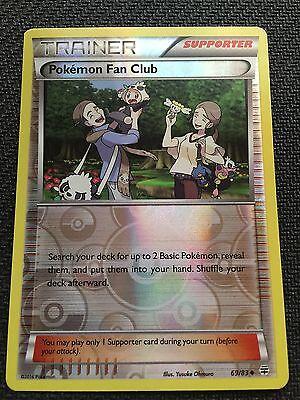 Reverse Holo  NM-Mint  Generations Pokemon Fan Club  69//83 Uncommon