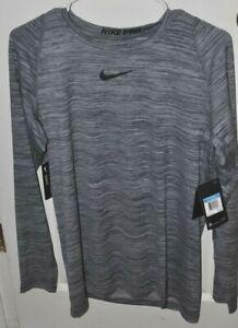 NEW-Men-039-s-Nike-Pro-Dri-Fit-Training-Shirt-Long-Sleeve-Brand-New-NWT-FREE-SHIP