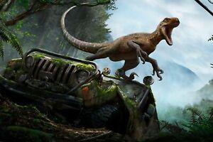 poster dinosaurio tiranosaurio rex triceratops dinosaur dino reptil ENV. 24/48h.