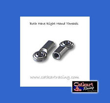 """TWO H-DUTY TIE ROD ENDS 3/8"""" RIGHT MANCO MURRAY STD TRACK OFF ROAD BUGGY GO KART"""