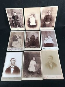Image Is Loading 9 Nice Carte De Visite Photographs From Pennsylvania