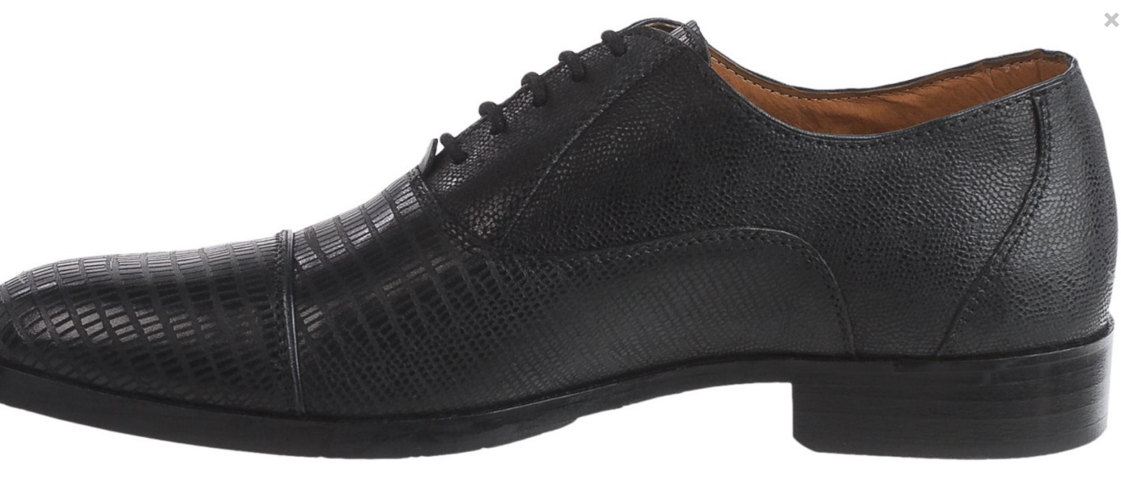 NEW BLACK STEVE MADDEN RIZZARD BLACK NEW LEATHER OXFORD SHOES Uomo 10.5 EMBOSSED LEATHER 4db9b7