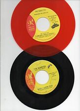 """THE RONETTES LOT OF 2 7"""" 45rpm 1 RED WAX 1 STOCK SINGLES R&B SOUL PHIL SPECTOR"""