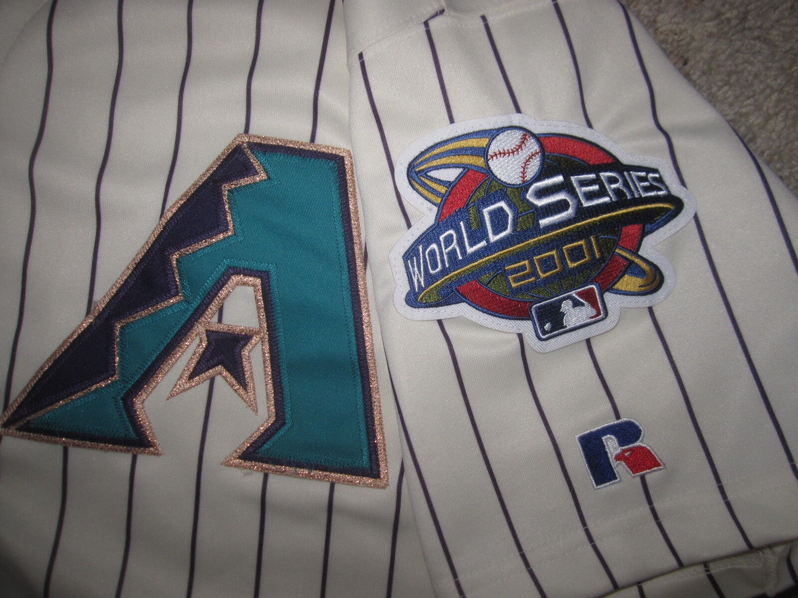 Arizona Diamondbacks 2001 World Serie Russell Athletic MLB Trikot XL XL XL 2ece67