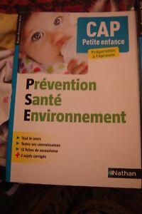 Details Sur Livre Prevention Sante Environnement Cap Petite Enfance Nathan