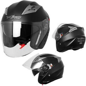 3b23639a0c231 La imagen se está cargando Casco-Jet-Helmet-Scooter-Moto-Homologado -Ciudad-Parasol-