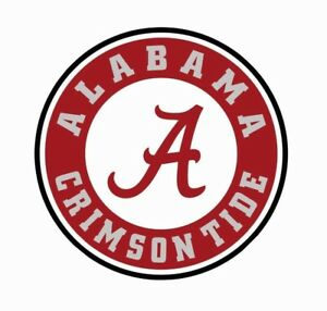 Alabama-Crimson-Tide-Football-Full-Color-Logo-Sports-Decal-Sticker-FREE-SHIPPING