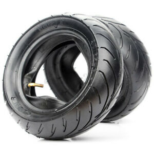 Mini Tasche Fahrrad 110/50/6.5 90/65/6.5 Vorne Hinten Reifen + Innenschlauch