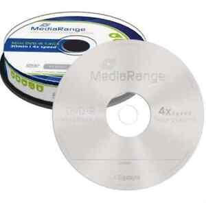 10-x-8-cm-imprimable-mini-dvd-vierge-R-disques-1-4-Go-4x-pour-DVD-Camescope