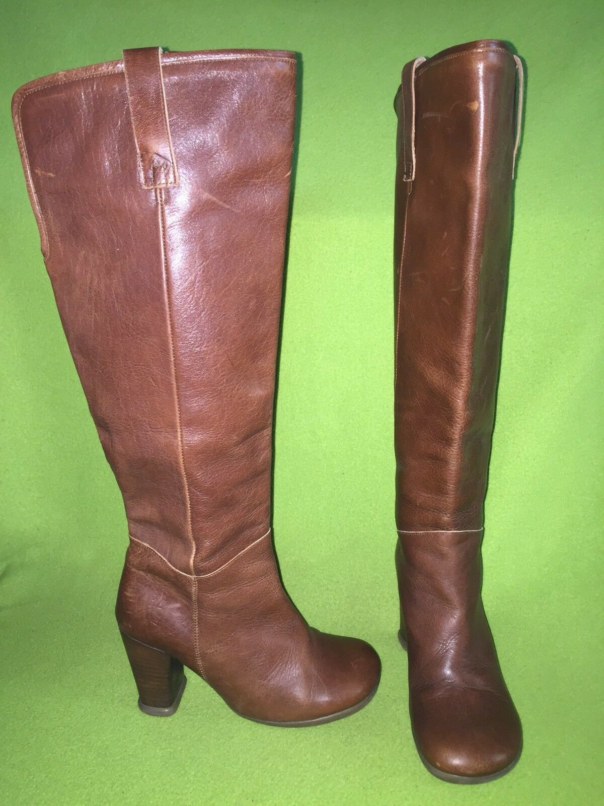 Gentlemen/Ladies Brown Fluevog Operetta Boots 6 service Moderate cost Known for its beautiful quality
