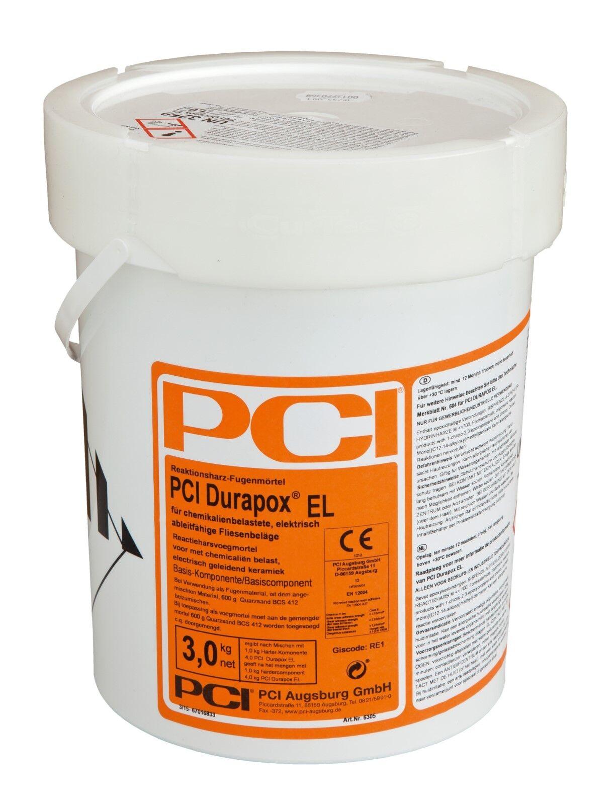pci durapox el 8.8 lbs reaktionsharzmörtel in black tile adhesive