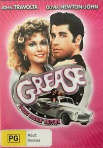 Grease-DVD-MUSICAL-2-Disc-Rockin-039-Edition-John-Travolta-Olivia-Newton-John-R4