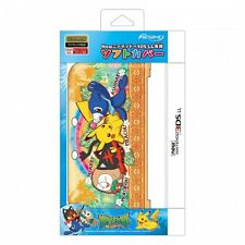 New Nintendo 3DS LL XL TPU Soft Case Cover Pikachu Friends Pokemon Sun and Moon