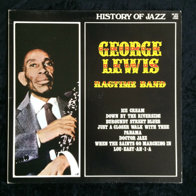 LP, George Lewis' Ragtime Band, History Of Jazz, Vinylen er…