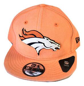 0f7508e66eb New Era Mens 9Fifty NFL Denver Broncos Hat Cap Snapback New