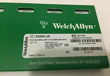 Welch Allyn 03000 Bulbs Pack Of 6 Lamps Brand New