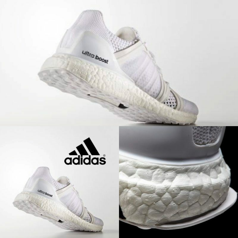 Adidas Women Stella McCartney Ultra Boost Sneakers White BB0820 Size 5-7.5