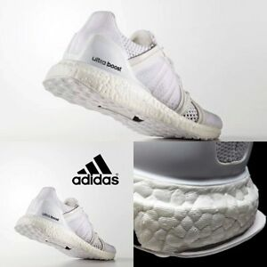 huge selection of a13c4 04873 Image is loading Adidas-Women-Stella-McCartney-Ultra-Boost-Sneakers-White-