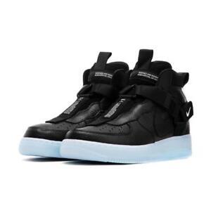 Nike-Air-Force-1-Utility-Mid-Black-Half-Blue-White-AQ9758-001