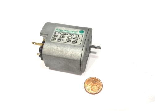 Engranajes Buehler motor 24v superslow sólo 1,2 rpm durante 1.61.065.470 1 unid.