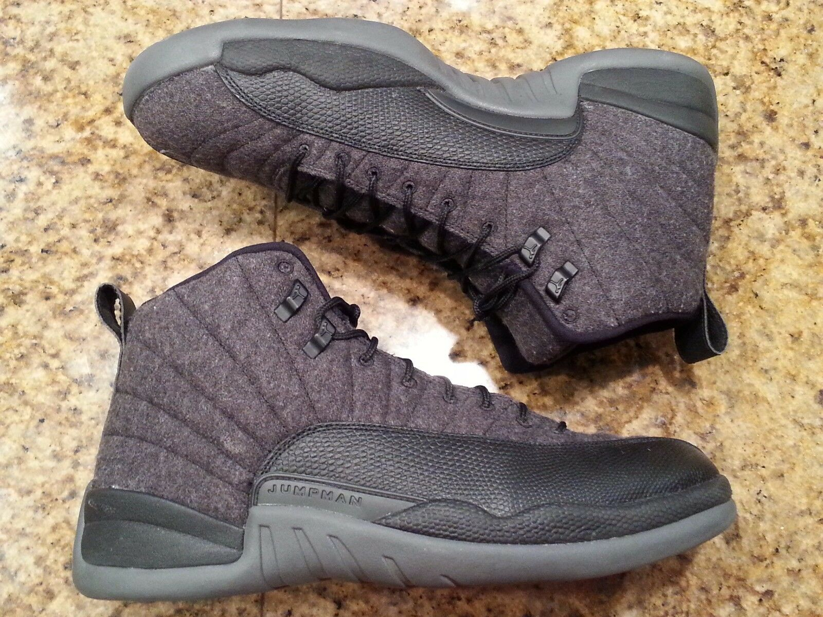 2018 Nike Air Jordan 12 XII Retro Wool Comfortable The latest discount shoes for men and women